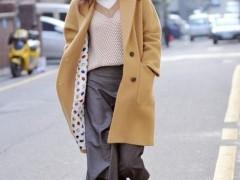 冬季的毛衣精致叠穿法